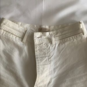 Jesse Kamm sailor pants in salt white. Size 4